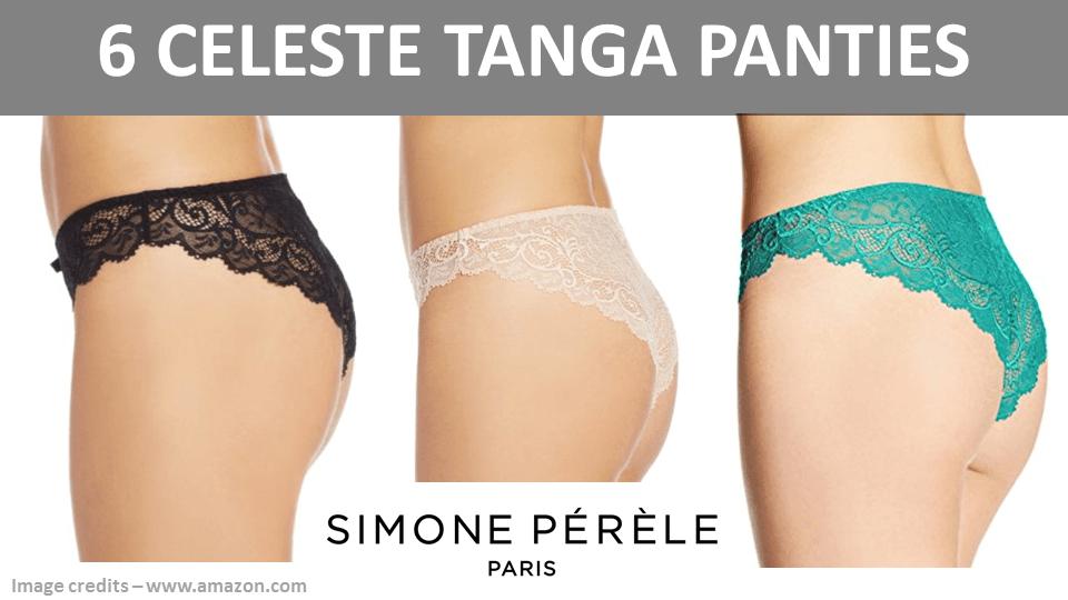 6 Celeste Tanga Panties
