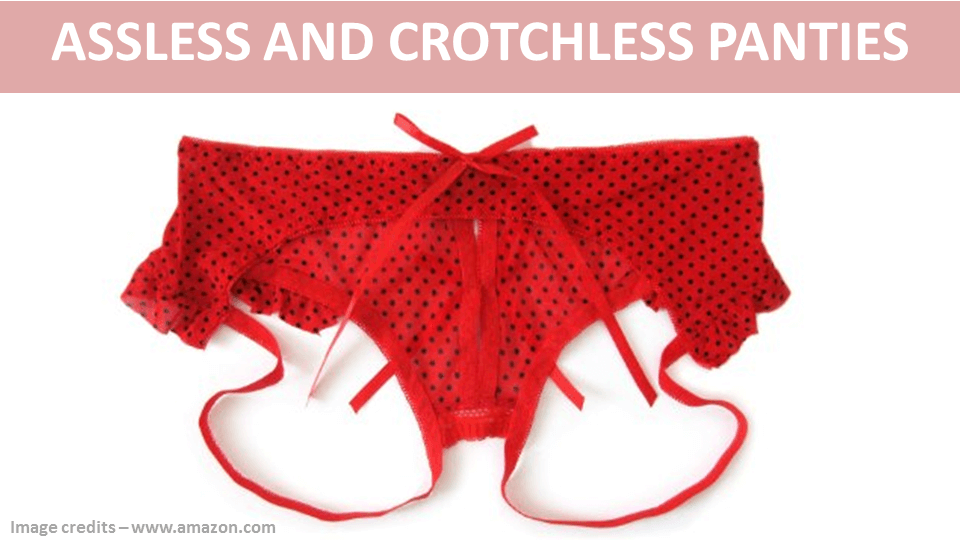 Assless And Crotchless Panties