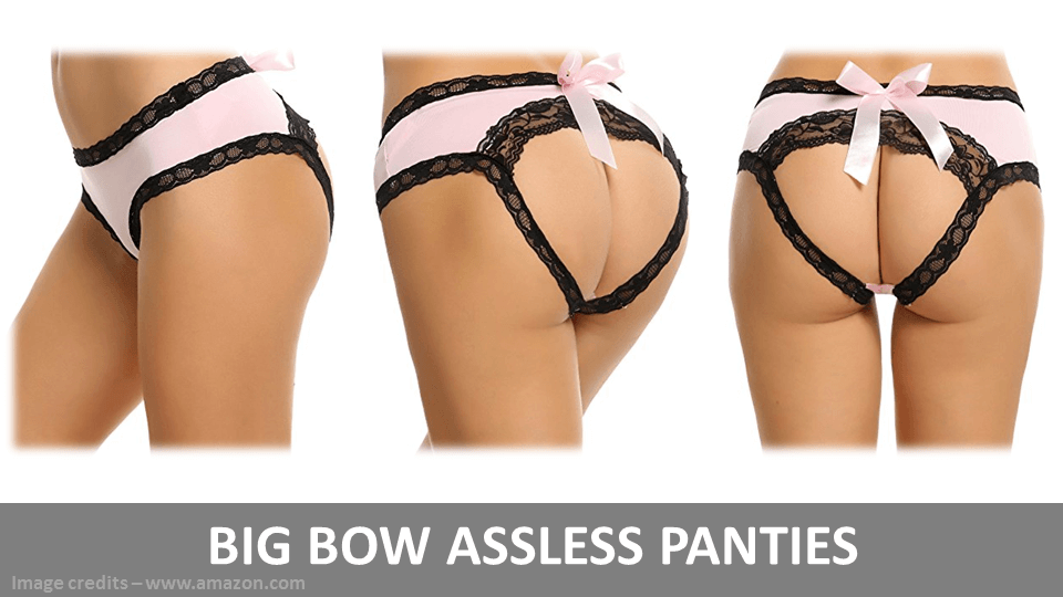 Big Bow Assless Panties