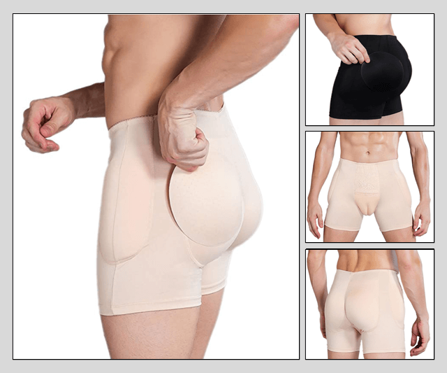 Boxer Short Gaff Panties - With All-Round Padding Image 50