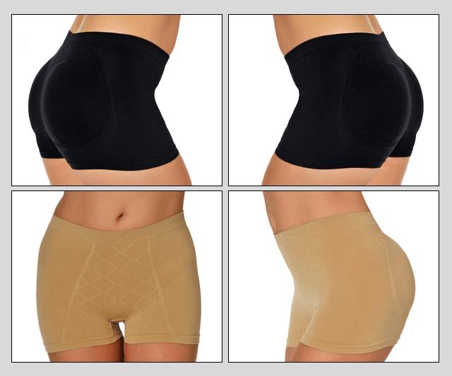 Boxer Short Gaff Panties - With Rear Padding Image 50