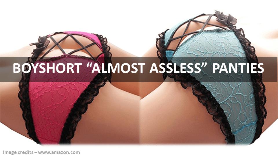 Boyshort Almost Assless Panties