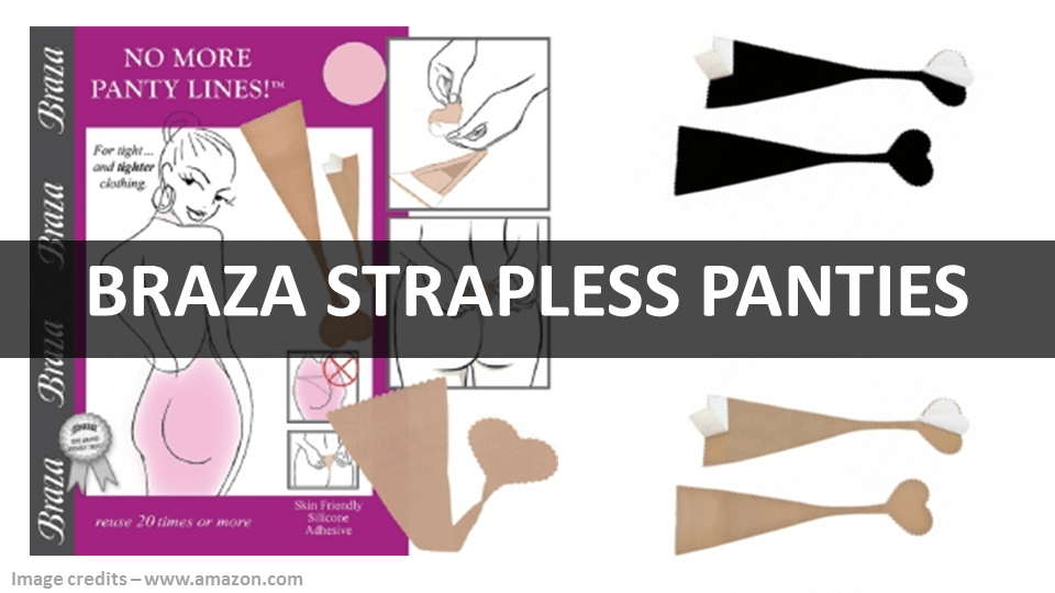 Braza Strapless Panties 1280x720