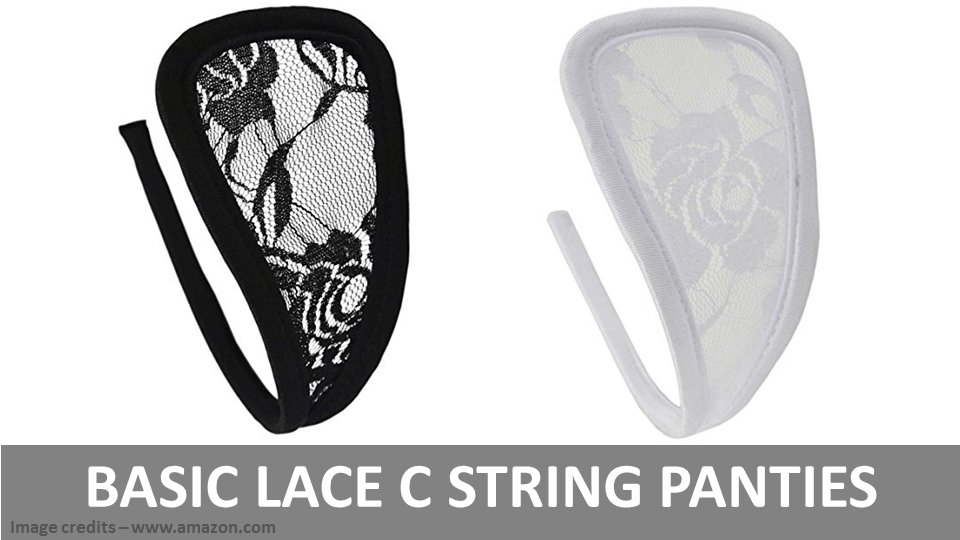 C String Panties - Basic Lace C String