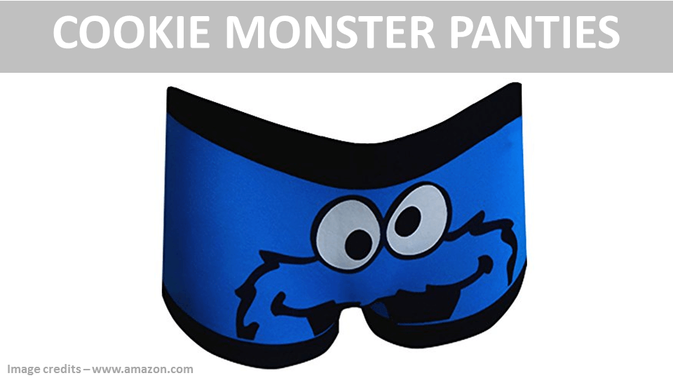 Cookie Monster Panties Women