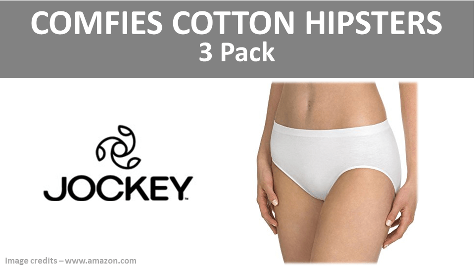 Cotton Hipster Panties - 3 Pack Comfies By Jockey