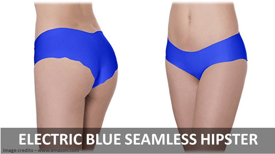 Electric Blue Seamless Hipster