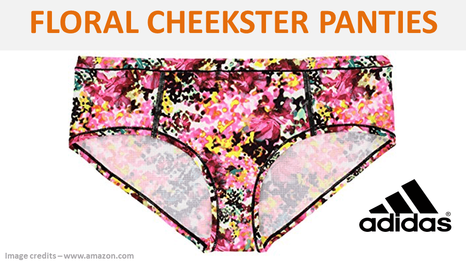 Fancy Panties - Floral Cheeksters By Adidas