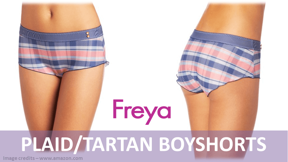 Fancy Panties - Plaid Tartan Boyshorts