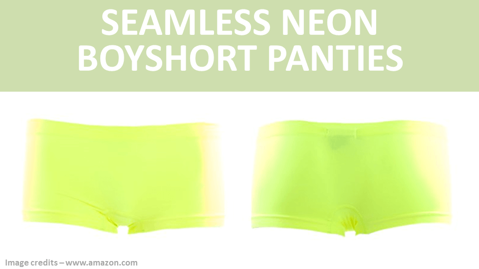 Fancy Panties - Seemless Neon Boyshorts