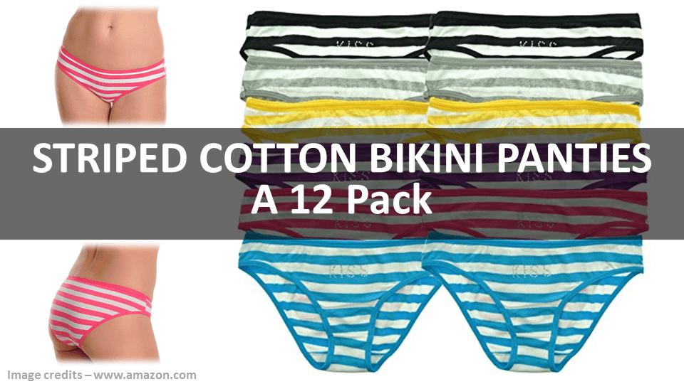 Fancy Panties - Striped Bikini
