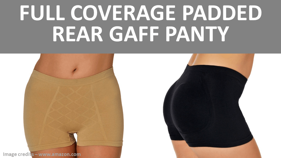 Full Coverage Padded Rear Gaff Panty
