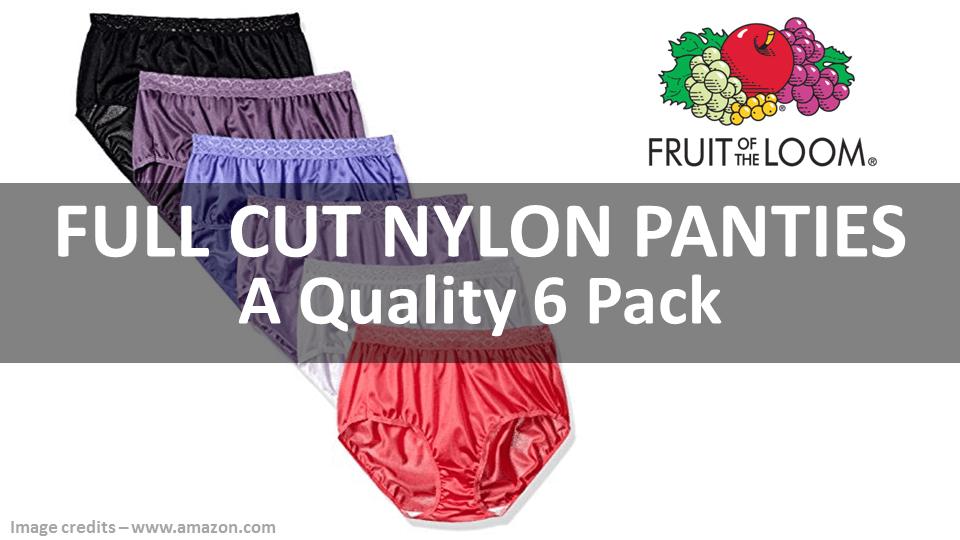 Full Cut Nylon Panties