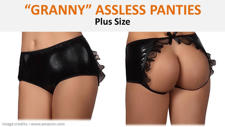 Granny Assless Panties