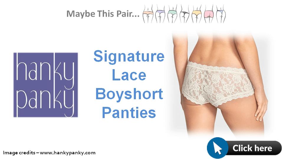 Hanky Panky Signature Lace Boyshort Panties 1280x720