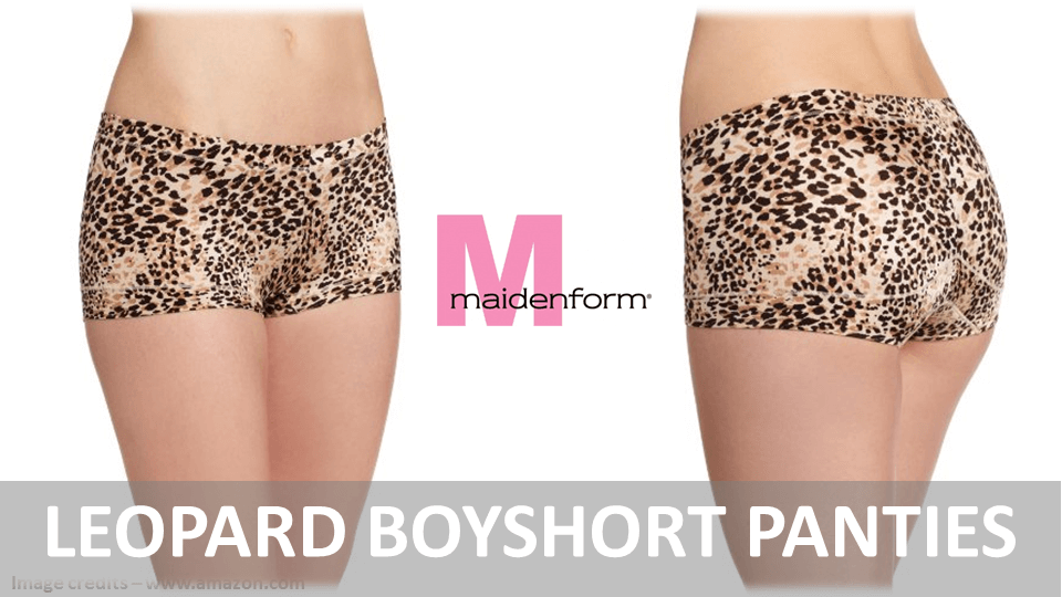 Leopard Boyshort Panties
