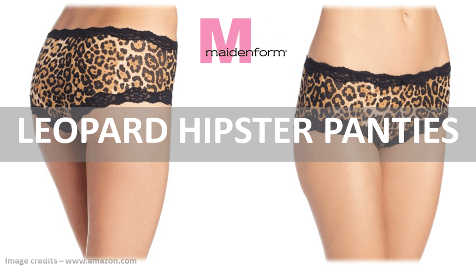 Leopard Hipster Panties