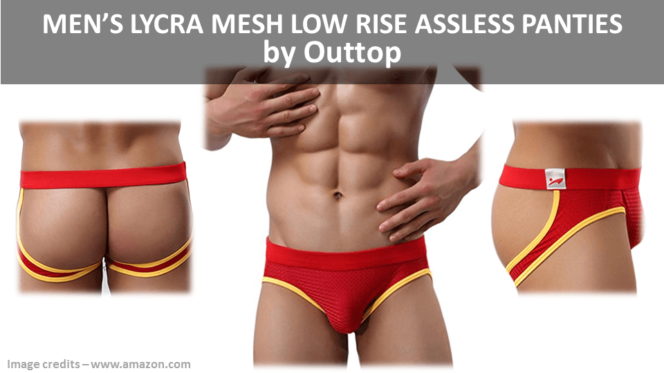 Mens Assless Underwear By Outtop