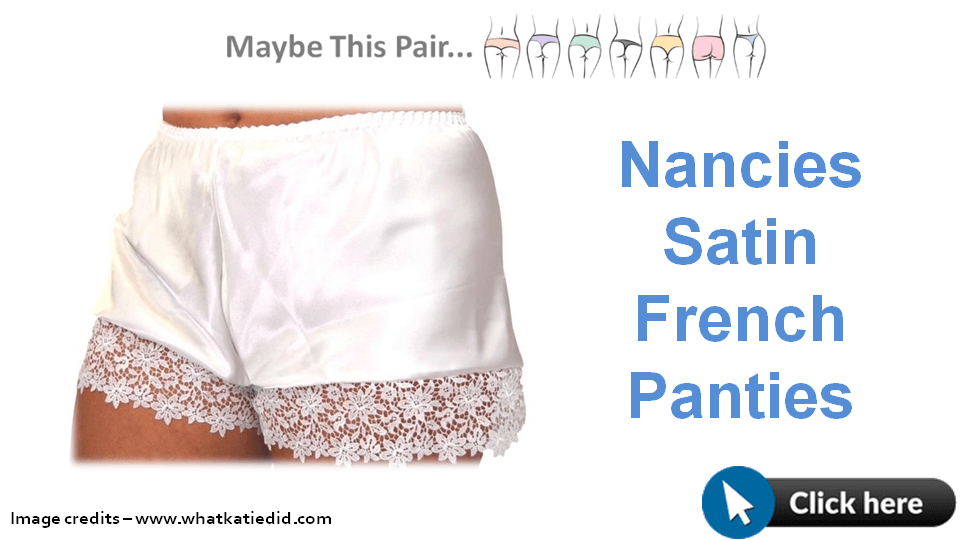 Nancies Satin French Panties