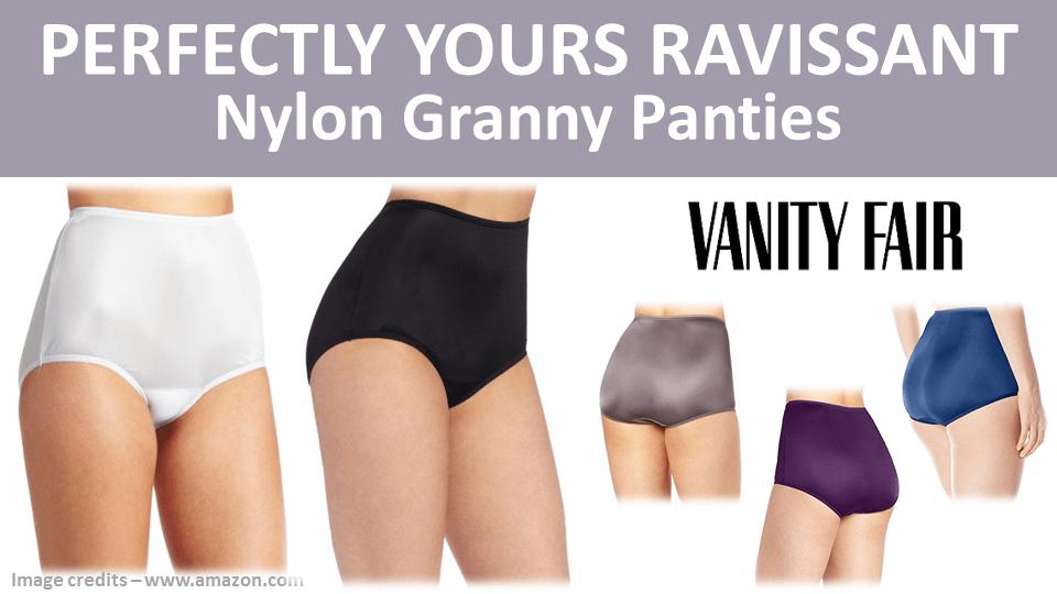 Nylon Granny Panties - Perfectly Yours Ravissant