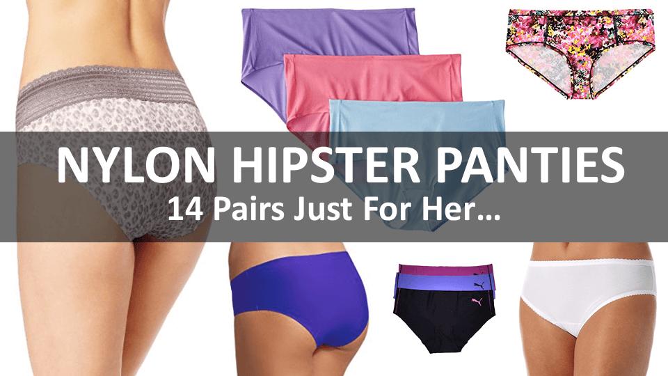 Nylon Hipster Panties Main