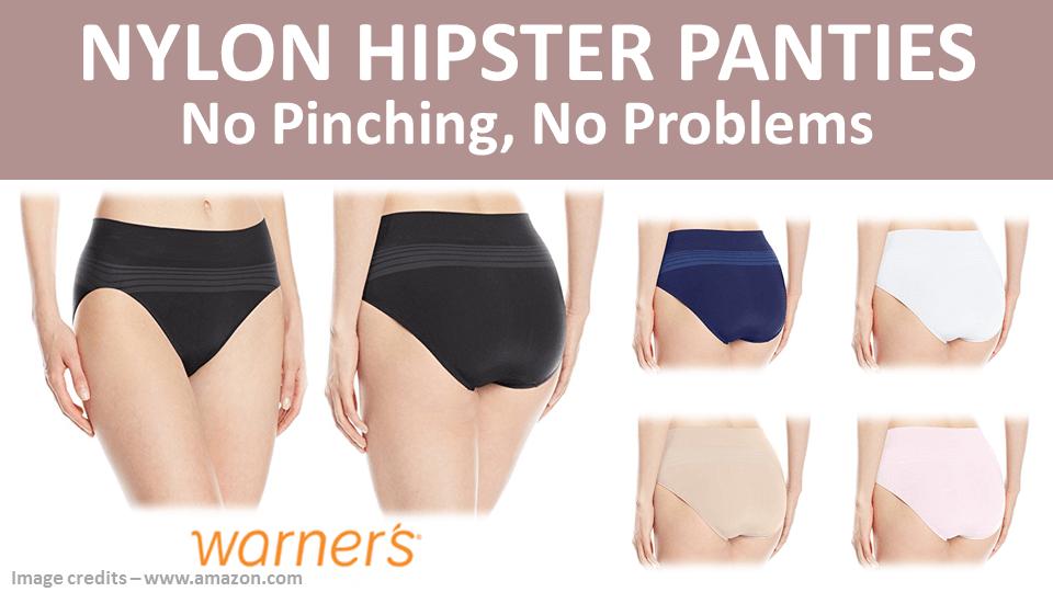 Nylon Hipster Panties Warners