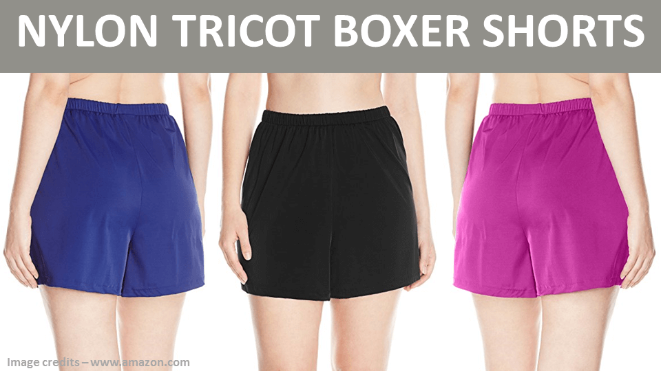 Nylon Tricot Boxer Shorts