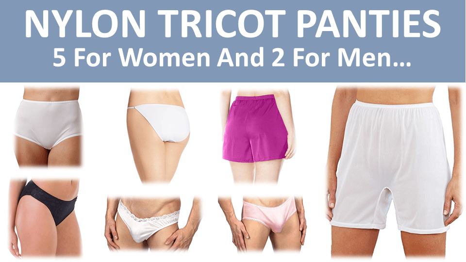 Nylon Tricot Panties - Main Image