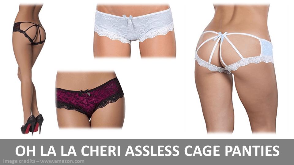 Oh La La Assless Cage Panties
