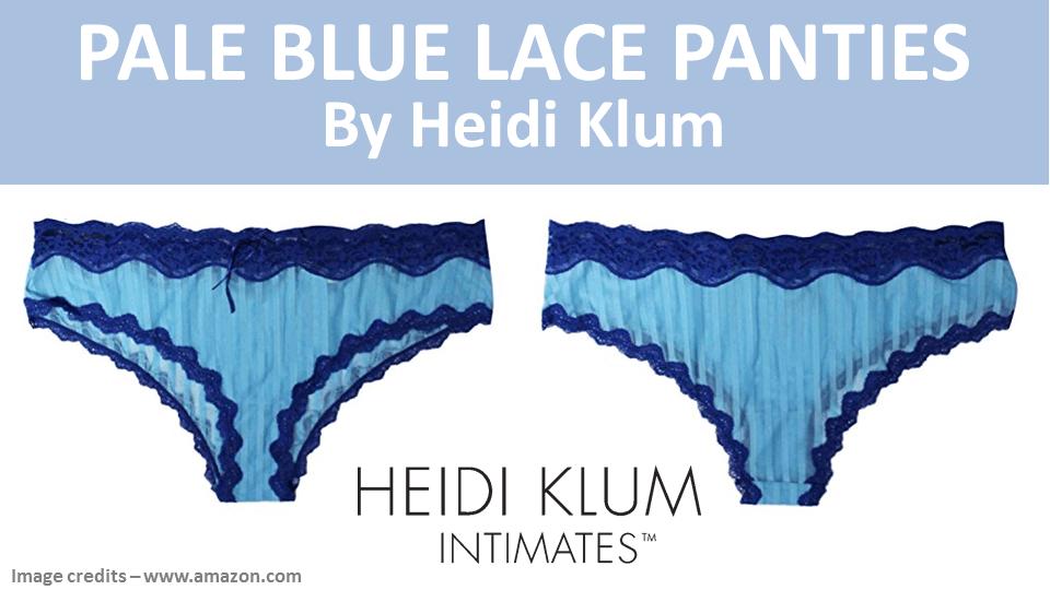 Pale Blue Lace Panties