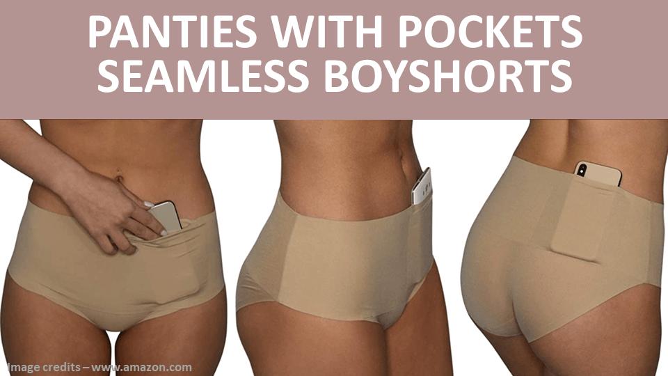 Pockets With Panties - Seamless Boyshorts