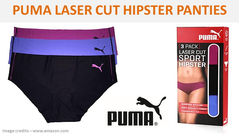 Puma Laser Cut Hipster Panties