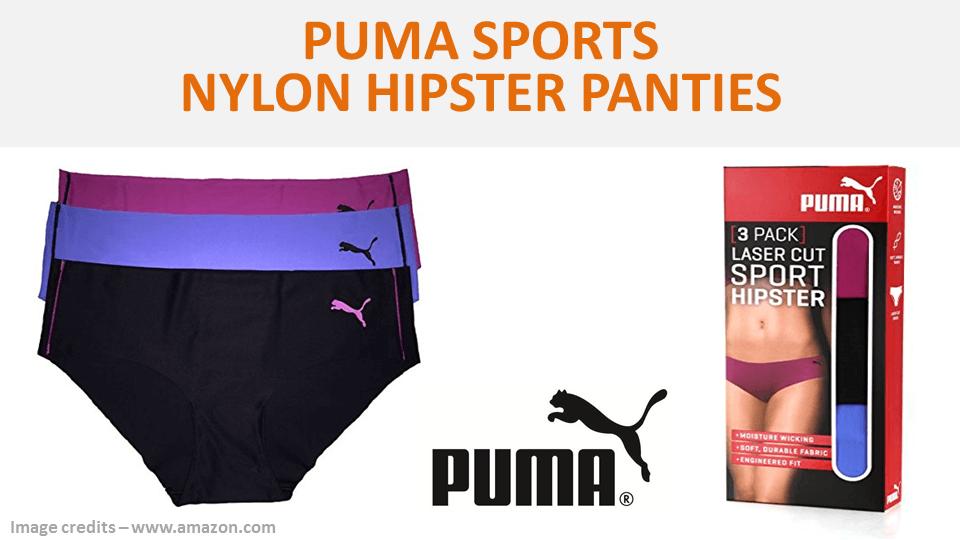 Puma Sports Nylon Hipster Panties