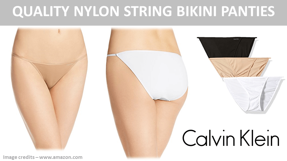 Quality Nylon String Bikini Panties