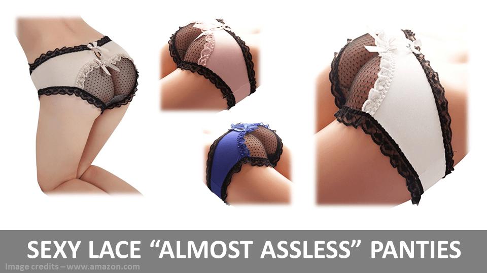 Sexy Almost Assless Panties