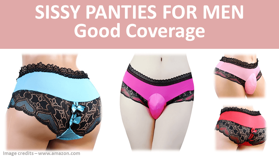 Sissy Panties For Men Good Coverage