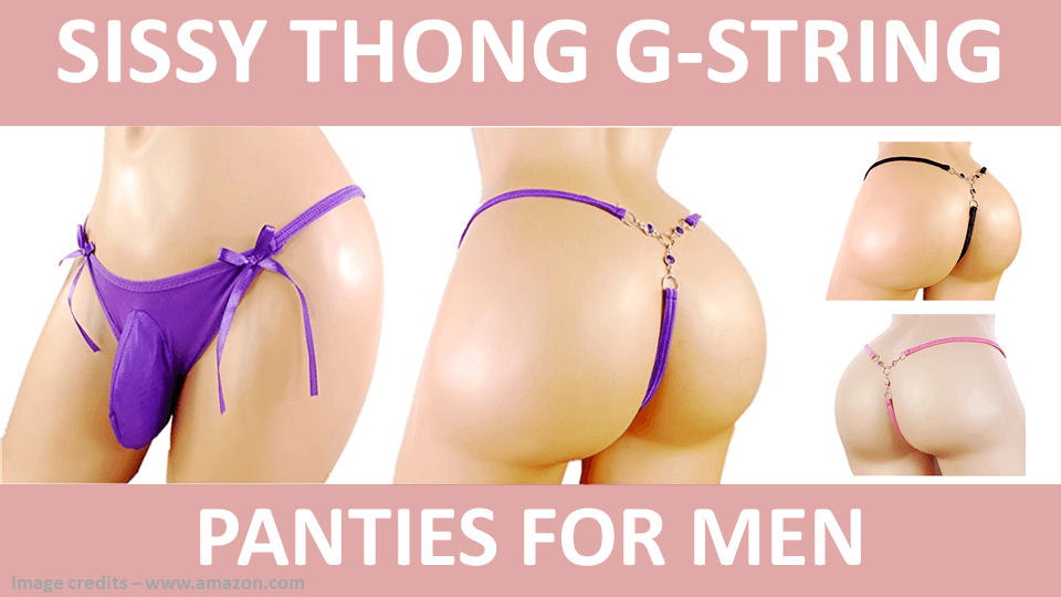 Sissy Thong G String Panties For Men