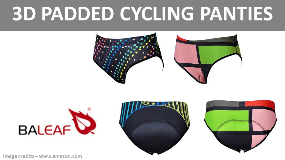Sports Panties - 3D Padded Cycling Panties