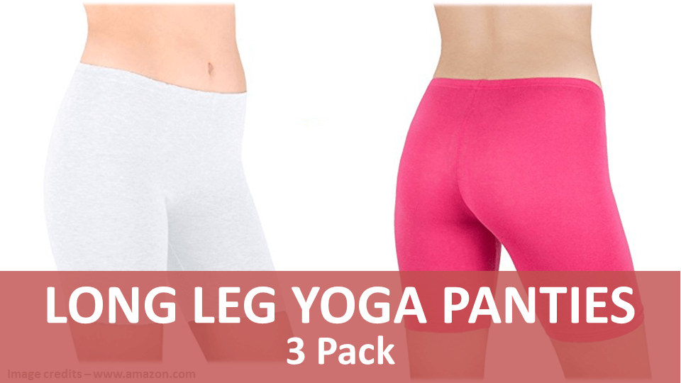 Sports Panties - Long Leg Yoga Panties