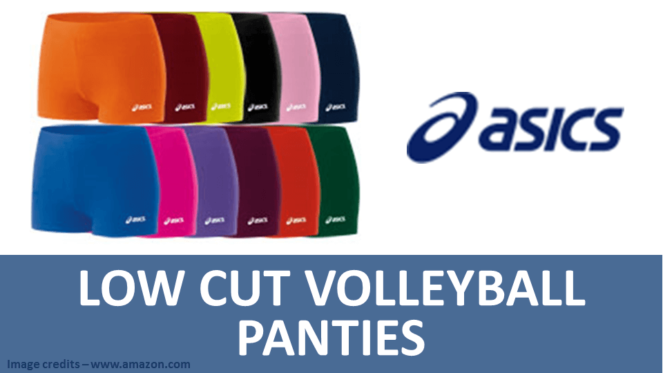 Sports Panties - Low Cut Volleyball Panties