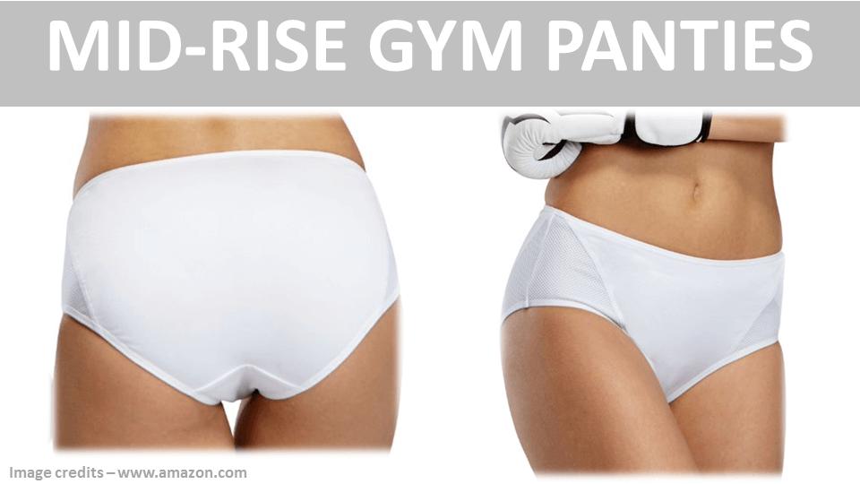 Sports Panties - Mid Rise Gym Panties