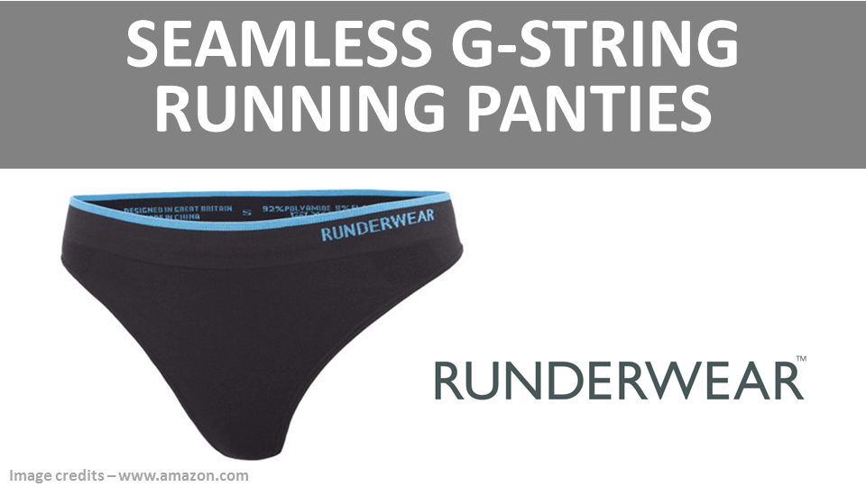 Sports Panties - Seamless G String Running Panties