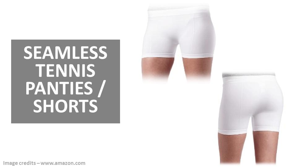 Sports Panties - Seamless Tennis Shorts