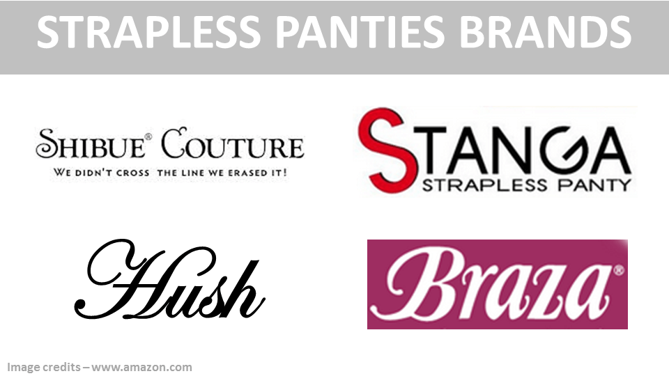 Strapless Panty Brands 1280x720