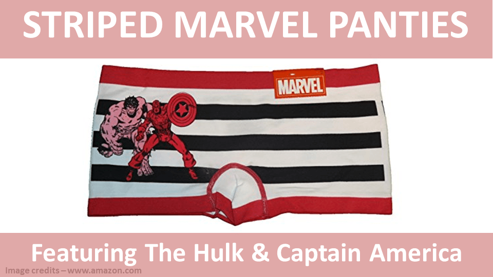Striped Panties - Marvel