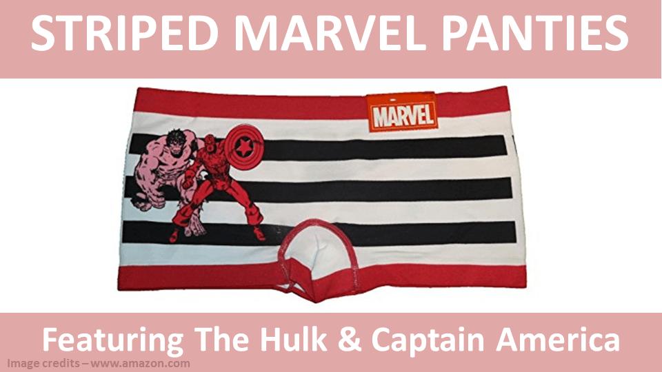 Striped Panties - Marvel