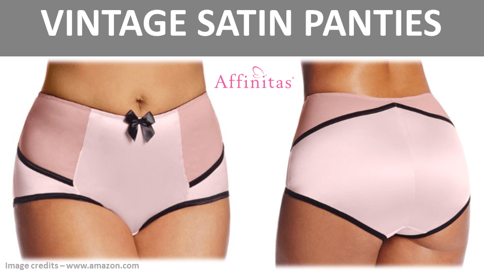 Vintage Satin Panties by Affinitas